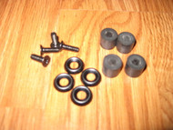 Adjustable retention holster hardware screws and washers replacement kit