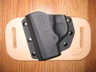 Beretta OWB standard hybrid leather\Kydex Holster (fixed retention)