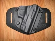 Bersa OWB standard hybrid leather\Kydex Holster (Adjustable retention)