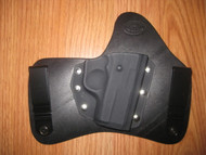 KAHR IWB standard hybrid leather\Kydex Holster (fixed retention)
