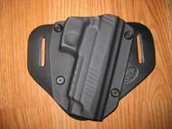RUGER OWB standard hybrid leather\Kydex Holster (Adjustable retention)