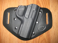 Ruger OWB standard hybrid leather\Kydex Holster (fixed retention)