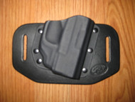 SPRINGFIELD ARMORY OWB standard hybrid leather\Kydex Holster (fixed retention)