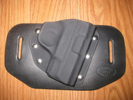 SMITH & WESSON OWB standard hybrid leather\Kydex Holster (fixed retention)