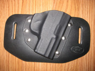 KELTEC OWB standard hybrid leather\Kydex Holster (fixed retention)