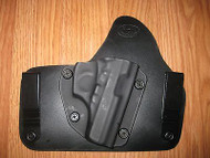 Bersa IWB Kydex/Leather Hybrid Holster with adjustable retention