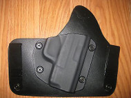 Diamondback IWB Kydex/Leather Hybrid Holster with adjustable retention