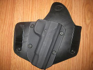 IWB holster Kydex/Leather Hybrid Holster with adjustable retention