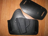 Taurus IWB/OWB combo Kydex/Leather Hybrid Holster with adjustable retention