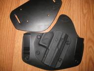 AREX IWB/OWB standard hybrid leather\Kydex Holster (Adjustable retention)