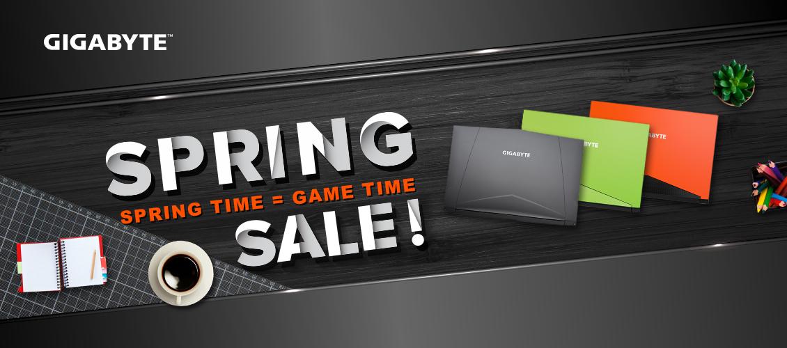 gigabyte laptop Aero 15W-BK4 in 3 color black, green, orange for Spring sale
