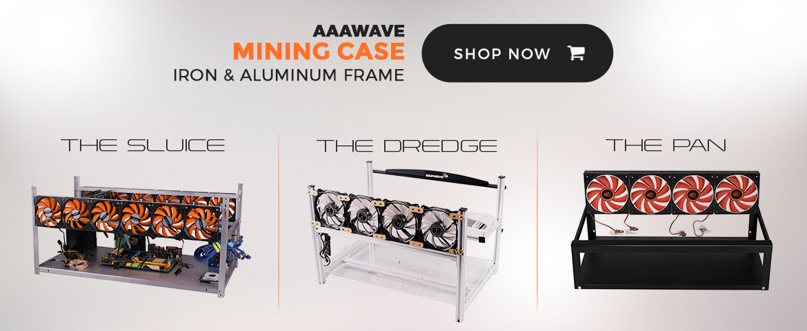 3 series of stackable mining frame, mining rig case with cpu fans in aaawave brand