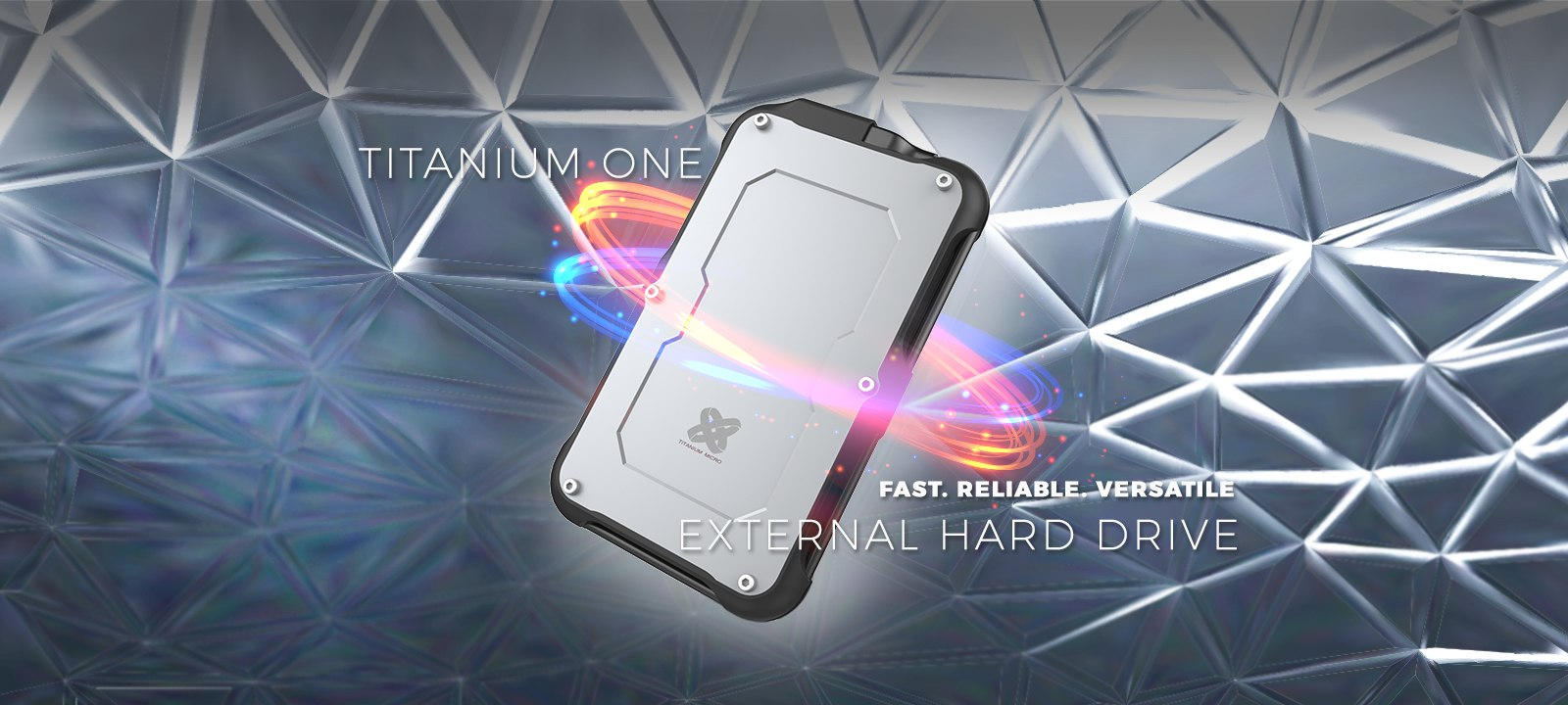 rugged Titanium One external solid state drive