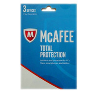 McAfee MF-MTP17-RT3U Total Protection 2017 3 Devices Retail Key Card