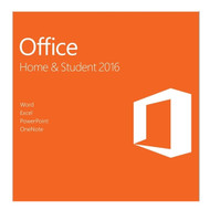 Microsoft Office 79G-04589 Home and Student 2016 1 user PC Key Card