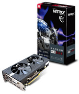 Sapphire Radeon NITRO+ RX 580 4GB GDDR5 PCI-E Dual HDMI / DVI-D / Dual DP w/ Backplate (UEFI), 100411NT+4GL