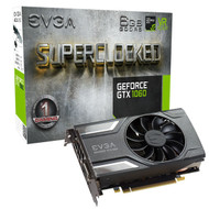 EVGA  06G-P4-6163-KR  GeForce GTX 1060 SC GAMING, ACX 2.0 (Single Fan), 6GB GDDR5, DX12 OSD Support (PXOC), Only 6.8 Inches Graphics Card