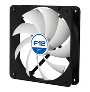 Arctic F12 PWM PST Value pack Standard Low Noise PWM Controlled Case Fan with PST Feature Cooling, 5 Pack …