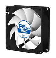 Arctic F8 PWM PST Value pack Standard Low Noise PWM Controlled Case Fan with PST Feature Cooling, 5 Pack …