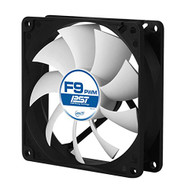 Arctic F9 PWM PST Value pack Standard Low Noise PWM Controlled Case Fan with PST Feature Cooling, 5 Pack