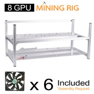 AAAwave Mining Case 8 GPU+ 6 x FAN SCYTHE SY1225DB12H 1600 RPM