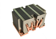 Dynatron B8 2U Passsive Aluminum Heatsink Stacked fin soldered on Copper base with 4x Heatpipes