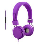 ECO-V20 Stereo Headset-Purple