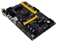 Biostar TB350-BTC Motherboard AMD Ryzen CPU B350 DDR4 SATA PCI Express USB ATX Retail