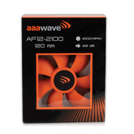 Set of 1 / 4 / 6 / 10 / 12 /14 Pack - AAAwave 120mm Double ball bearing Silent Cooling Fan, CPU Cooler, Water-Cooling Radiator and Case