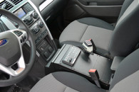 """C-VS-1400-INUT, 2013-2016 Ford Standard Interior Police Interceptor Utility Vehicle Specific 14"""" Console"""