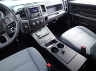 """C-VS-0814-RAM-2, 2013-2016 Dodge Ram 1500 Special Services Police Truck Vehicle Specific 22"""" Console"""