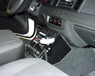 """C-AS-940-8, 9"""" Angled Series Console For Sedans"""