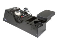 "C-VS-1508-INSE, Console, Vehicle specific, 23"" Total mounting space, 15 Degrees, Housing complete, Ford Interceptor Sedan Police Vehicle 13-15,"