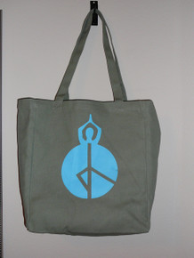 Style #4469 Peace Print Tote Bag