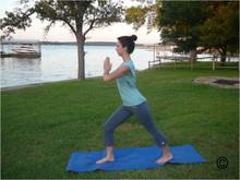 Style #2523 Yoga/Fitness Striped Capris