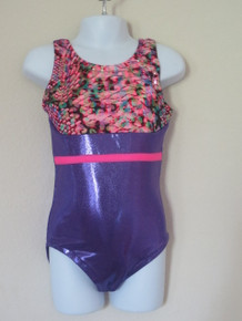 Pink Animal / Purple Leotard