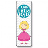 I am a Child of God Girl Bookmark