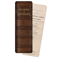 Doctrine and Covenants Bookmark, Original Spine and Cover Page