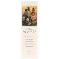 I Know My Savior Lives Bookmark