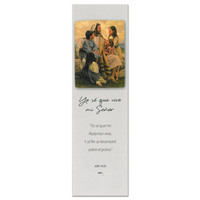 I Know My Savior Lives Spanish Bookmark