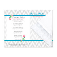 Pure & White Temple Handkerchief Print