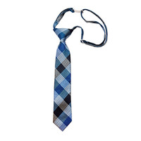Blue & Black Boys' Tie
