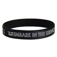 Embark in the Service of God Wristband