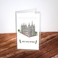 Salt Lake Temple Recommend Holder Illustration