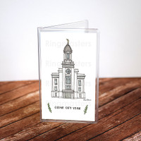 Cedar City Utah Recommend Holder Illustration