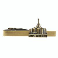 Calgary Alberta Tie Bar Gold