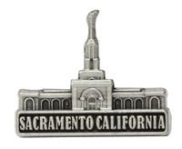 Sacramento California Temple Pin