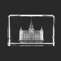Provo City Center Crystal Cube