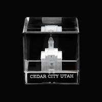 Cedar City Utah Crystal Cube