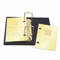Engravable Golden Plate